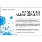 HAND TIED CARE CARD  60-00574